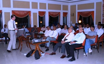 A highly successful Orthopaedic Meeting was held on 31st March at the Sailing Club Hyderabad